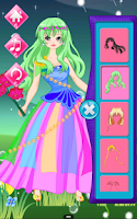 Screenshot of Dress Up Flower Fairy