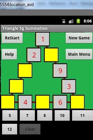 Wordoku Triangle 5g puzzle