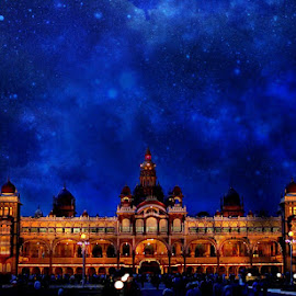 Mysore Palace  by Prasanna Bhat - Digital Art Places