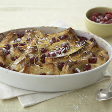 Lemon-Raspberry French Toast Strata