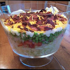My Mother- in-law's 7 Layer Salad