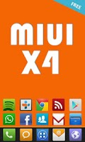Screenshot of MIUI X4 Go/Apex/ADW Theme FREE