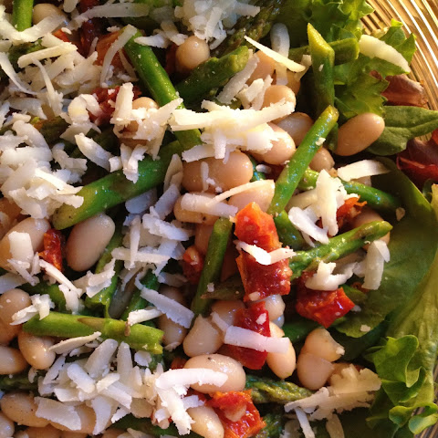 White Bean and Asparagus Salad