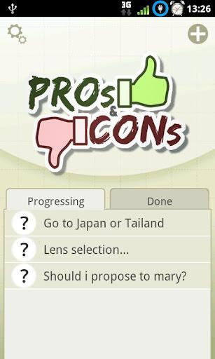 優缺分析 Pros Cons