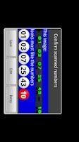 Screenshot of Powerball Scanner