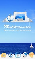 Screenshot of Mediterranean GOLauncher Theme