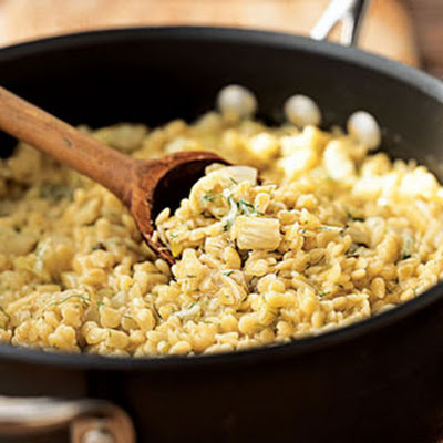 Pasta Risotto with Fennel