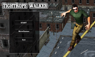 Screenshot of TightRope Walker 3D HD