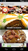 Screenshot of Cookbook free : Spanish Recipe