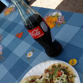 Street tacos old Nogales hyw. by Patrick Orcutt - Food & Drink Plated Food