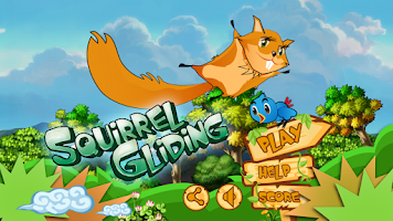Screenshot of Squirrel Gliding