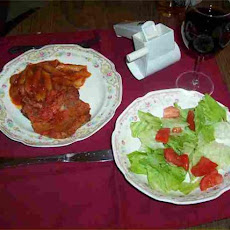 Penne With Pork Chops