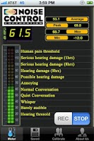 Screenshot of Noise Control Pro