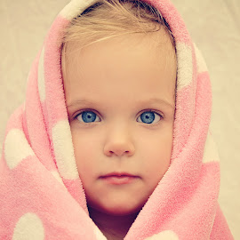 My Blankie by Lucia STA - Babies & Children Child Portraits