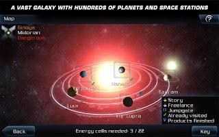 Screenshot of Galaxy on Fire 2™ HD