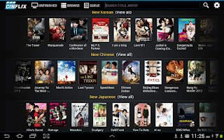 Screenshot of Cinflix Watch Asian  Movies