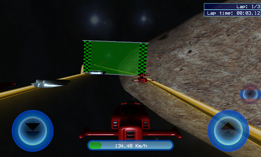 Space Racer 3D HD - screenshot