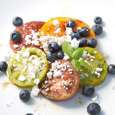 Blueberry and Tomato Salad