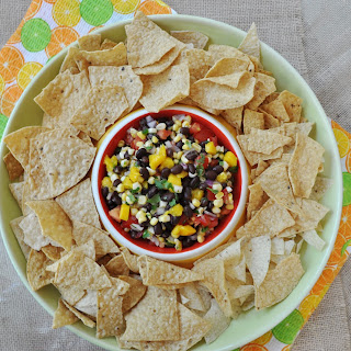 Black Bean and Mango Salsa