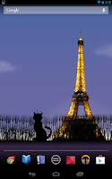 Screenshot of Mon Paris Live Wallpaper Free