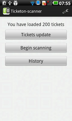 Ticketon Entry Manager