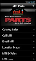 Screenshot of MTI Parts