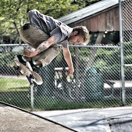 Beau by Alexandra Williams - Sports & Fitness Skateboarding ( skateboarding, skater, sports, nikon, skateboard )
