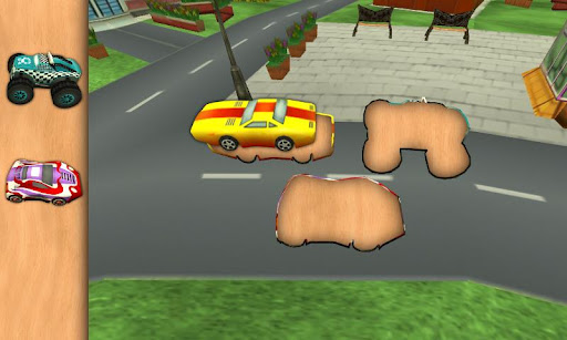 Animated Toddler Puzzles: Cars