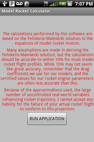 Model Rocket Calculator Paid