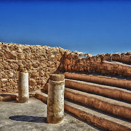 MASADA ISRAEL by Maffy Mamuri - Buildings & Architecture Architectural Detail