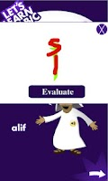 Screenshot of Learn Arabic Alphabets