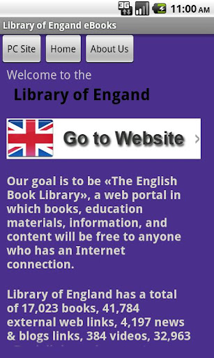 Library of England eBooks