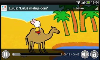 Screenshot of VoD Bajki