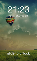 Screenshot of Galaxy S5 LockScreen
