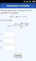 Screenshot of Easily Math