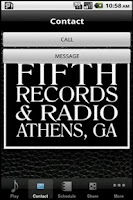 Screenshot of Fifth Records & Radio