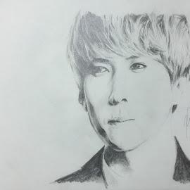 Sehun by Xia Zheng - Drawing All Drawing