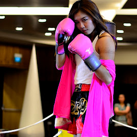 Prettier in Pink by Jai Dominado - Sports & Fitness Boxing