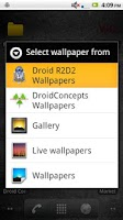 Screenshot of R2D2 Wallpapers