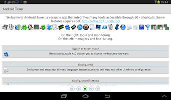 Screenshot of 3C Toolbox (aka Android Tuner)