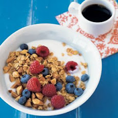 Maple-Almond Granola with Seasonal Fruit