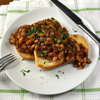 Baked Beans With Canned Beans Vegetarian Recipes