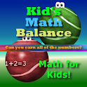 Kid's Math Balance HD icon