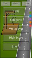 Screenshot of Oběšenec CZ