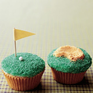 Father's Day Tee-Time Cupcakes