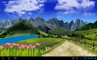 Screenshot of Mountain Live Wallpaper