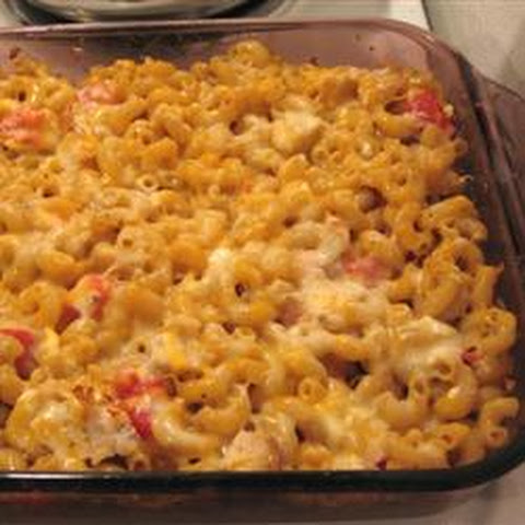 Four Cheese Macaroni Casserole