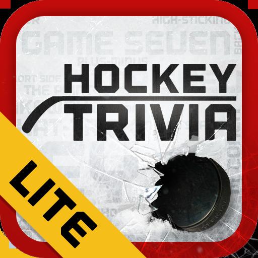 Hockey Trivia Lite-Flames LOGO-APP點子