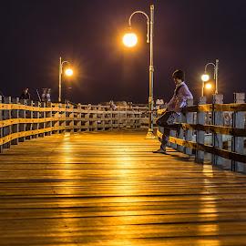 by Bungsu Sumawijaya - City,  Street & Park  Night