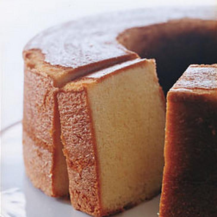 Elvis Favorite Pound Cake Recipe